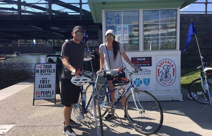 Bike There, Buffalo!: Self Guided Bike Tour Of The Waterfront Loop
