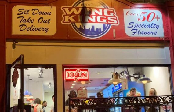 Wing Kings is located on Elmwood Ave / Photo courtesy of Wing Kings