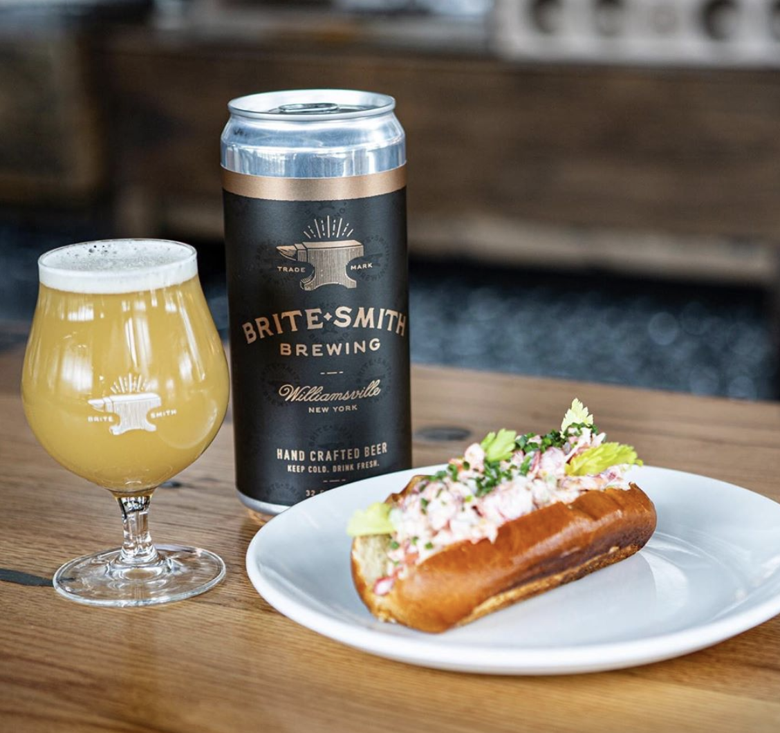 Britesmith Brewing Lobster Rolls