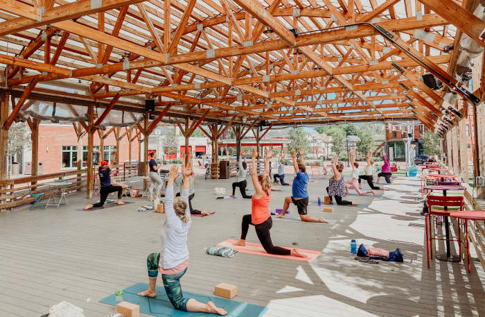 5 Unique *In-Person* Yoga Classes to Take This Summer