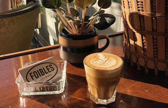New: Foibles Coffee & Pie Opens with Weekend Pop-Ups