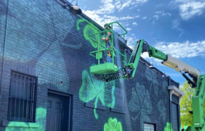 New Mural Alert: Is This The Most Irish Street Art in Buffalo?