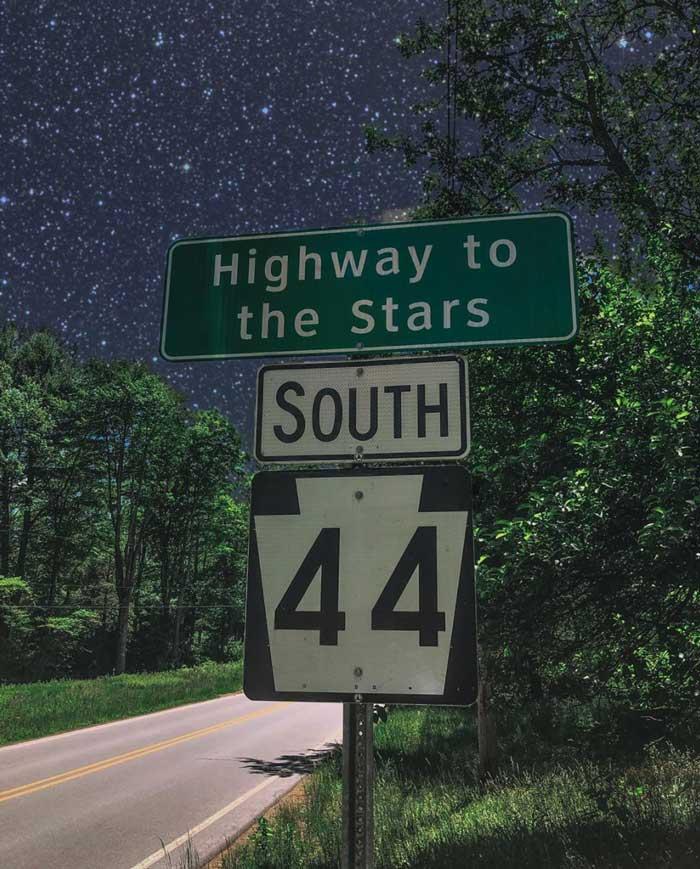 stargazing Cherry Springs State Park