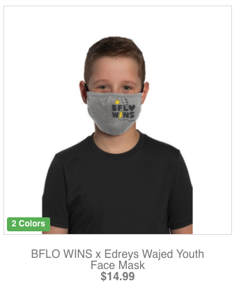 BFLO WINS by Edreys Wajed - Step Out Buffalo x Artists Merch