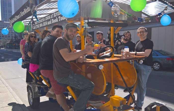 celebrate: Buffalo Pedal Tours