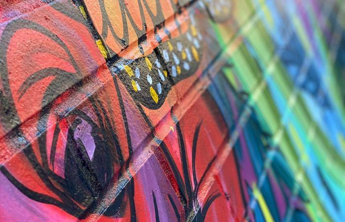 New Mural Alert: Niagara Street Gets a Street Art Garden
