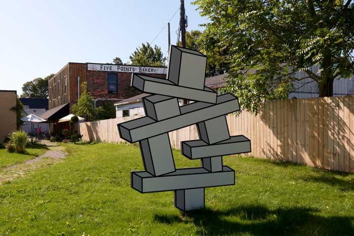 public art: Balancing Act