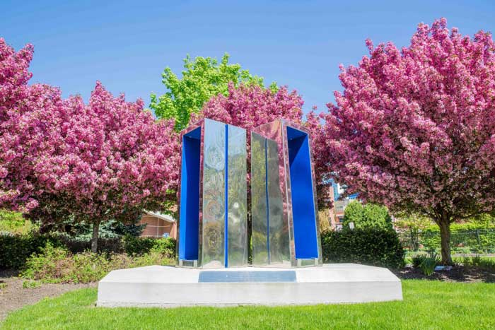 public art: walk through