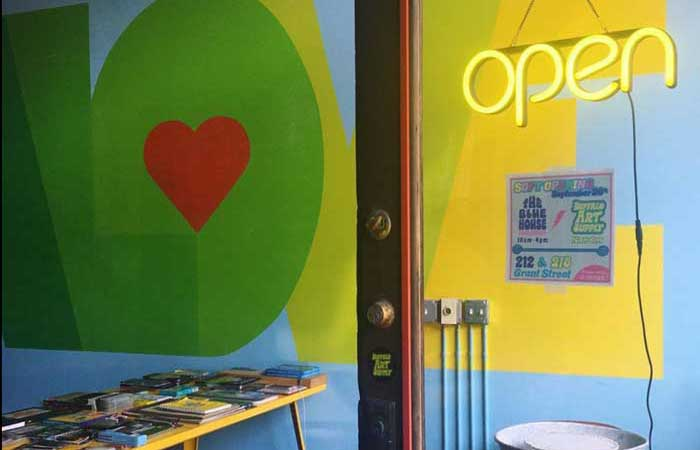 New: Buffalo Art Supply Brings a Thrifty Solution to the Creative Community