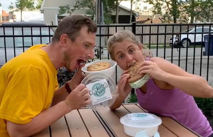 New: Cookies & Cream Serves Giant Ice Cream Sandwiches