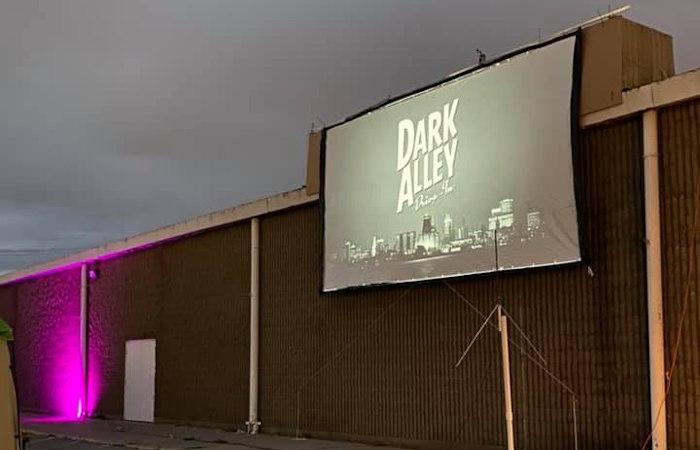 dark alley drive in