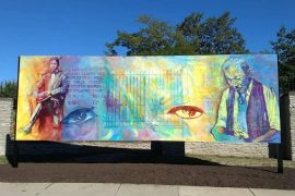 James Brent Mural at the Buffalo Zoo x James Cooper III / Photo courtesy of Albright-Knox