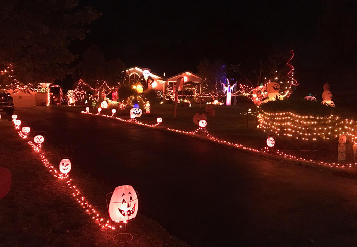 Lancaster Ny Christmas Lights 2020 The Coolest Halloween Houses in WNY 2020   Step Out Buffalo