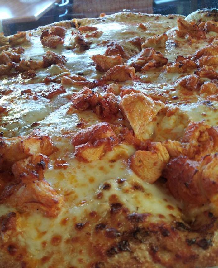 Chicken Finger Pizza