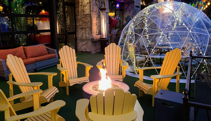 Guide to Restaurants Offering Igloo / Greenhouse / Hut Dining This Winter