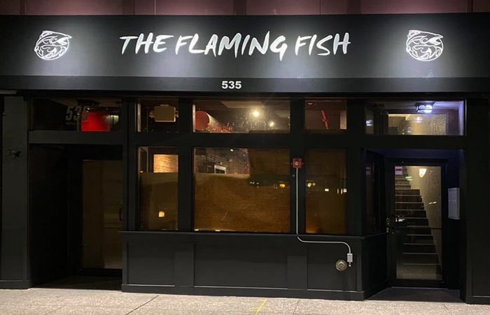 The Flaming Fish