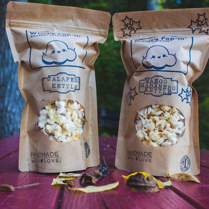 What's Pop-In Gourmet Popcorn