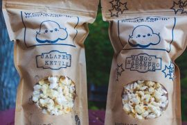 What's Pop-In Gourmet Popcorn