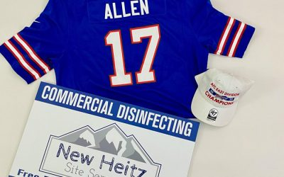 CLOSED: Enter to Win a Josh Allen Jersey & a Buffalo Bills AFC East Champions Hat From New Heitz Site Services