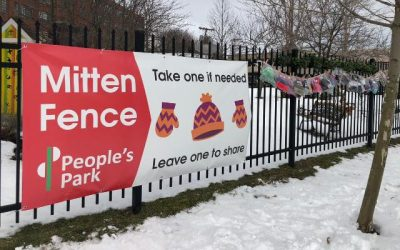 Feel Good News: Buffalo Gives Back With The Mitten Fence