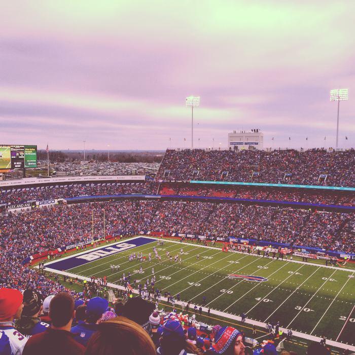 Buffalo Bills Game in 2014 / Step Out Buffalo