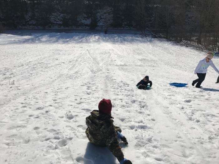 Sledding at Gunther's Hill / Step Out Buffalo