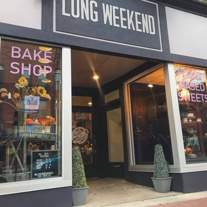 Photo courtesy of Long Weekend Bakery + Cafe