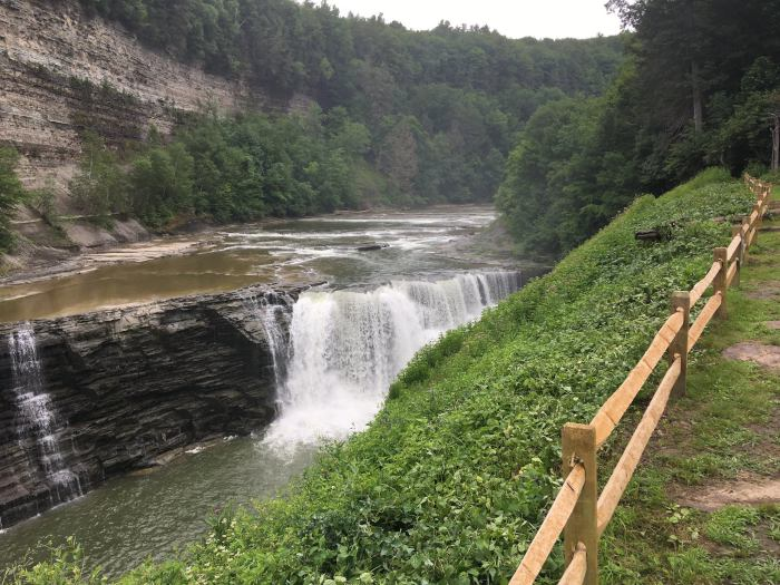 Photo courtesy of Letchworth State Park's Facebook