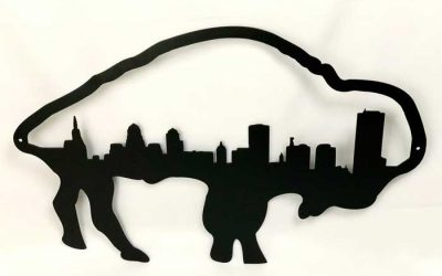 Enter to Win a Buffalo Skyline Wall Hanger from Buffalo Brew Fab