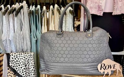 Enter to Win a Grey Weekender Travel Bag from Rove Boutique