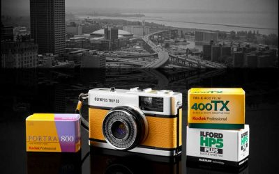 Enter to Win an Analog Camera, Film, & over $100 in film Scanning Credits from Precision Archival