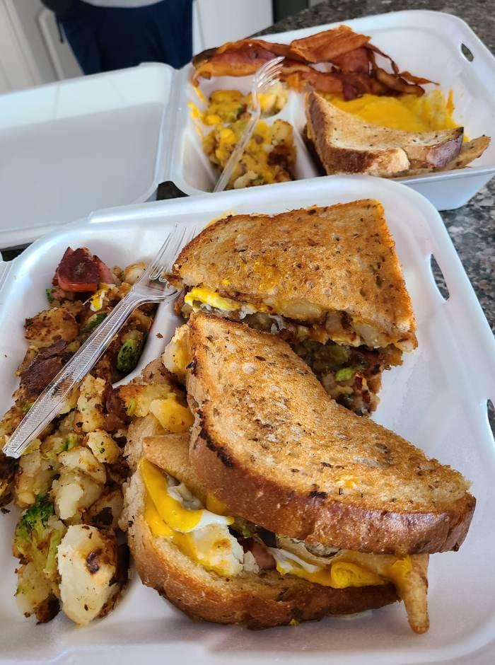JJ's Cafe Breakfast Sandwich / Photo courtesy of JJ's Cafe