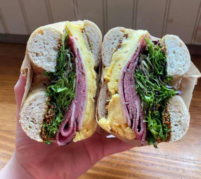 Breadhive Breakfast Sandwich / Photo courtesy of Breadhive