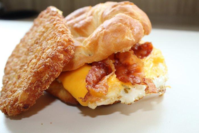Elmwood Market Breakfast Sandwich / Photo courtesy of Elmwood Market