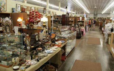 What to Expect When You Visit Antique World Market in Clarence