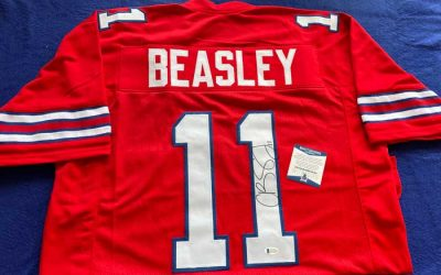 Enter to Win a Cole Beasley Autographed Color Rush Jersey from ZubaZone 716
