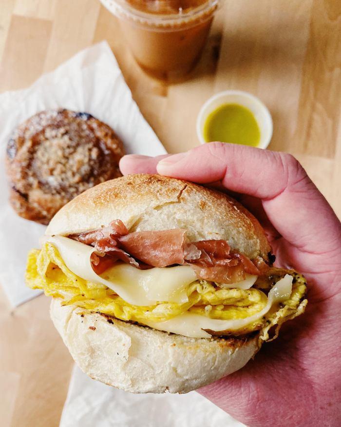 Remedy House Breakfast Sandwich / Photo courtesy of Remedy House