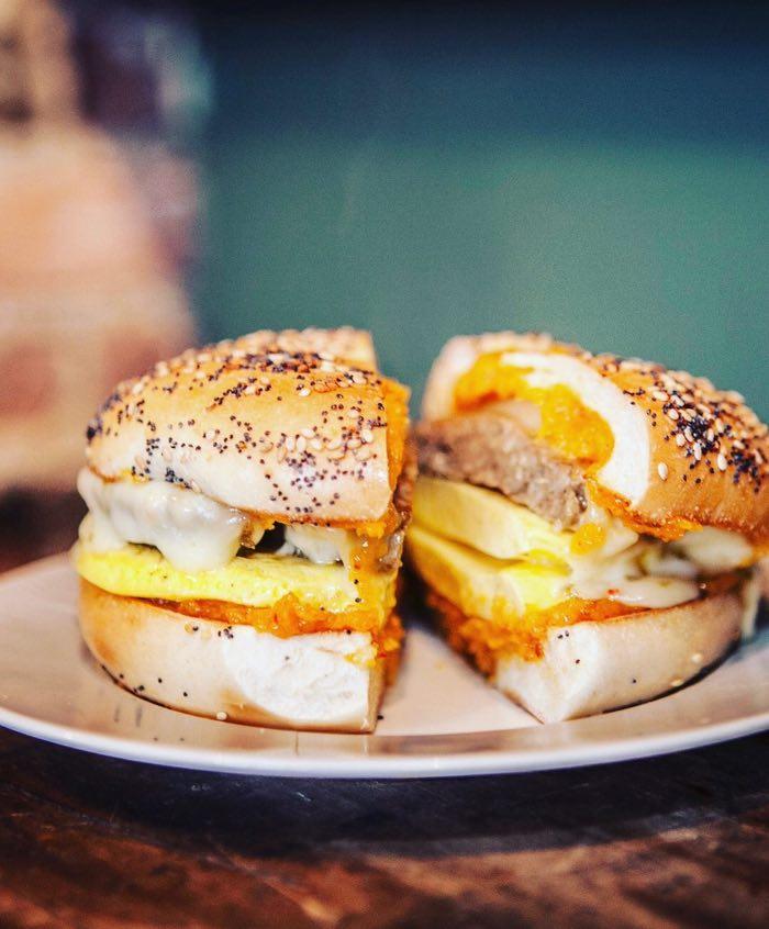 Undergrounds Breakfast Sandwich / Photo courtesy of Undergrounds