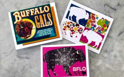 """Buffalo Gals"" by White Rabbit Design is a Buffalo-Themed Gift Line"