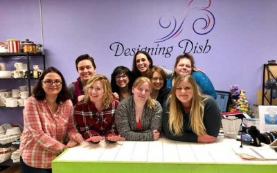 Enter to Win $100 towards a Ladies Night Out DIY Glass Fusion  Class At Designing Dish