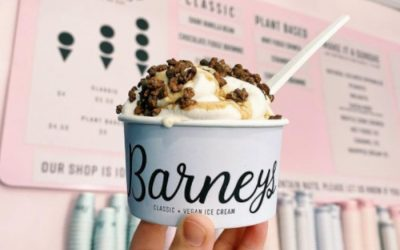 New: Barney's is Now Scooping House-made Classic & Plant-Based Ice Cream