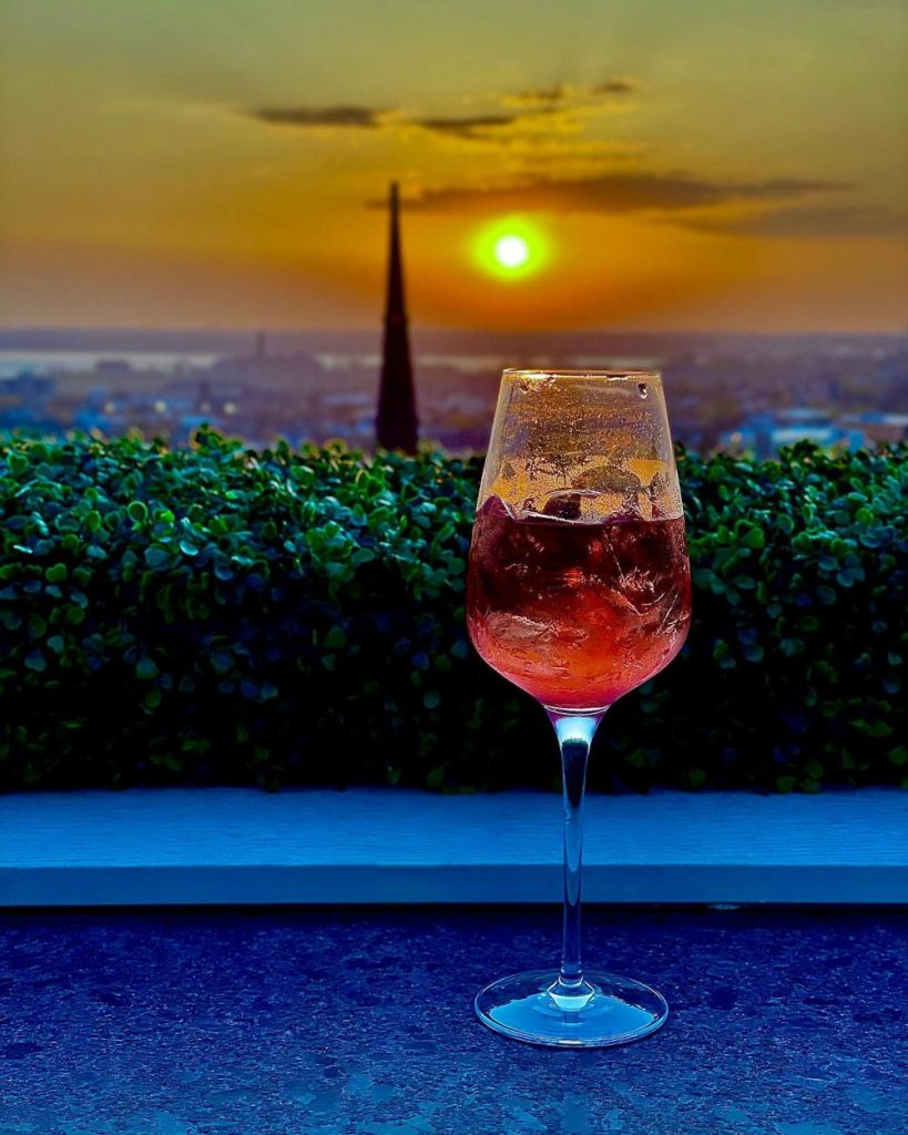 patricks rooftop sunset