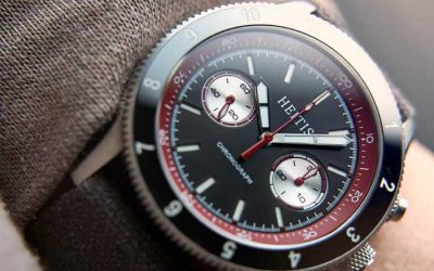 Enter to Win a ST19 Chronograph watch from Heitis Watch Company