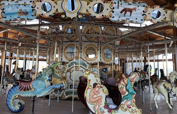 New: Buffalo's Heritage Carousel is Now Open at Canalside