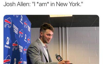 The Best Josh Allen Memes & Tweets of All Time