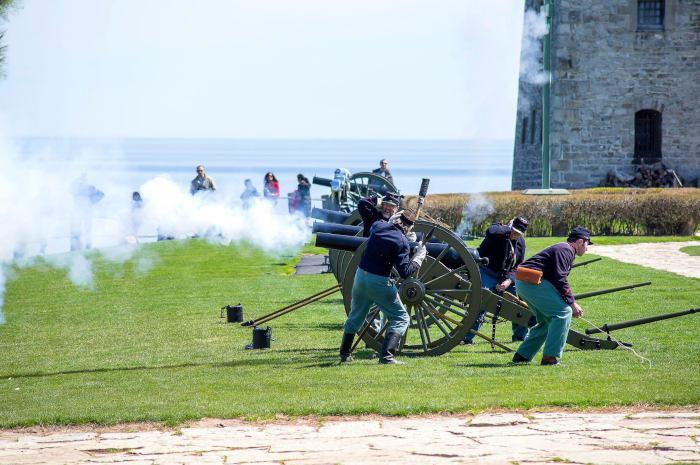 Photo courtesy of Old Fort Niagara