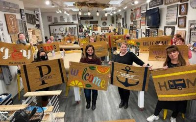 New: DIY Workshops with Board & Brush in Kenmore