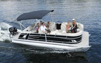 Collins Marine Has a Brand-New Fleet of Pontoon Boats You Can Rent This Summer