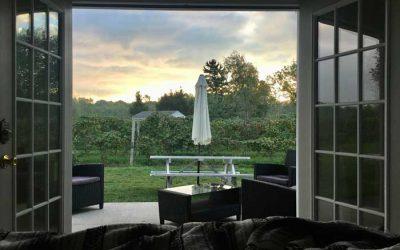 Enter to Win a  Farm Vineyard Weekend Retreat from Becker Farms