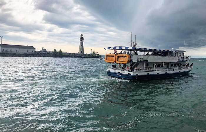 Dying to Get On the Water? These Buffalo Harbor Cruises Will Be the Highlight of Your Summer